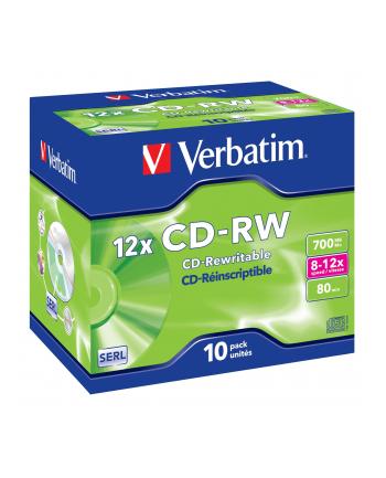 CD-RW  8-10x 700MB 10P JC           43148