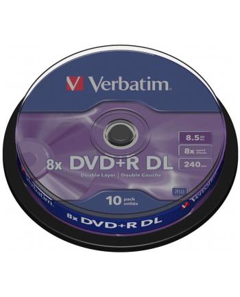 DVD R (8x) 8.5GB DoubleLayer CB 10P 43666