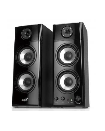 Głośniki GENIUS 2.0 SP-HF1800A 50W, drewniane, czarne