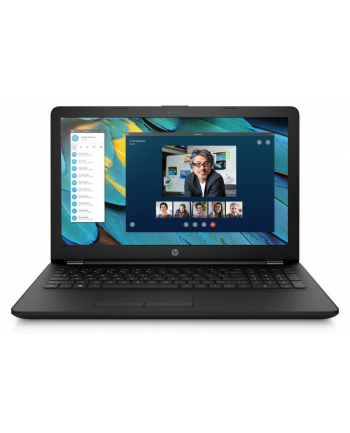 Notebook HP 15-ra097nw 15,6''HD/N3060/4GB/SSD128GB/HD400/W10 Black