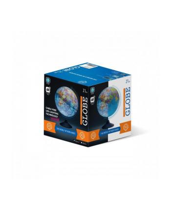 dante Globus 21cm z mapą fizyczną i aplikacją AR światło LED 01909
