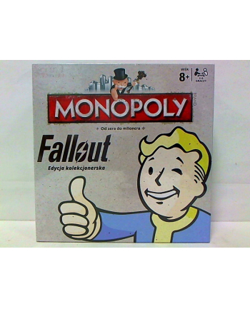 Monopoly Fallout PL 027588 WINNING MOVES