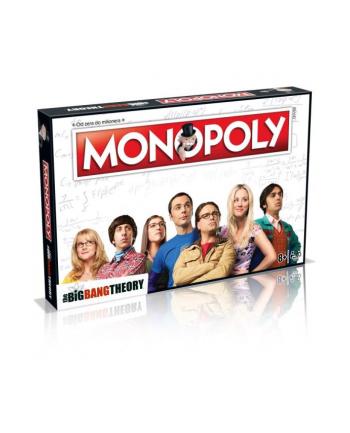 Monopoly Teoria Wielkiego Podrywu Big Bang Theory 036115 WINNING MOVES