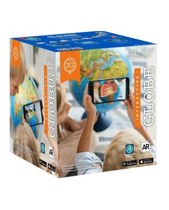 dante Globus 32 cm z mapą fizyczną, polityczną i aplikacją