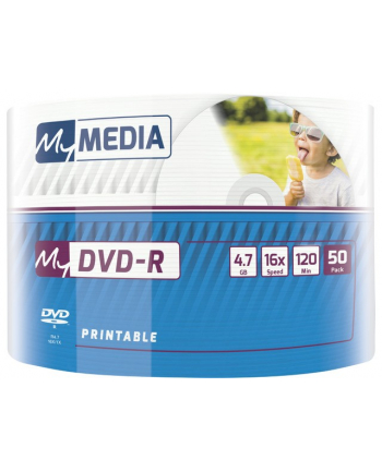 verbatim DVD-R My Media 4.7GB x16 Wrap Printable (50 spindle)