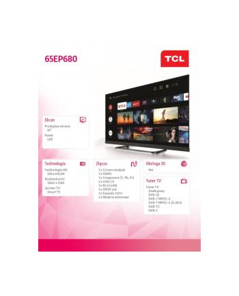 tcl Telewizor LED 65 cali 65EP680