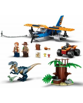 LEGO 75942 JURASSIC WORLD Welociraptor: na ratunek dwupłatowcem p6