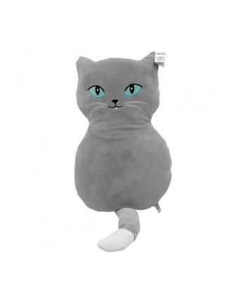 axiom Maskotka Poduszka Kot Czaruś szary 52 cm