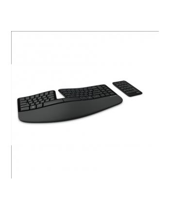 microsoft MS Sculpt Ergonomic Keyboard for Business USB Port Eng Intl EURO Hdwr