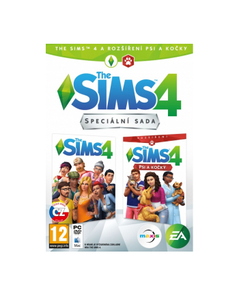 electronic arts EA THE SIMS 4 + CATS&DOGS (EP4) PC CZ