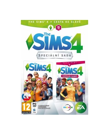 electronic arts EA THE SIMS 4 + GET FAMOUS (EP6) PC CZ