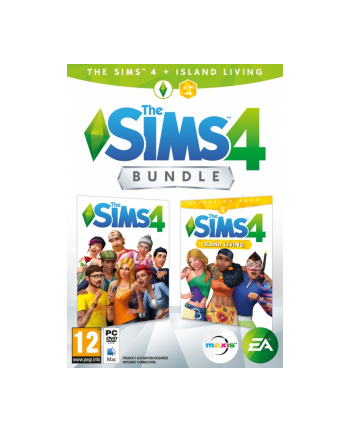 electronic arts EA THE SIMS 4 + IS.LIV.(EP7) PC CZ/HU/RO