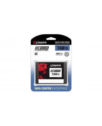 KINGSTON 7.68TB DC500R 2.5inch SATA3 SSD Enterprise Read-Centric