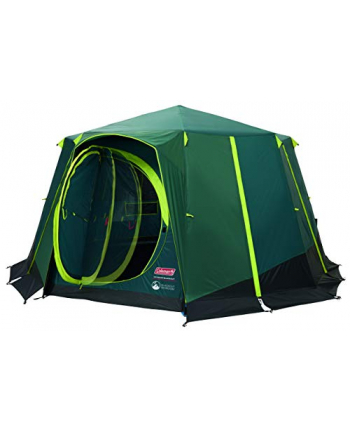 Coleman dome tent Cortes Octagon 8 Blackout (dark green, model 2020)