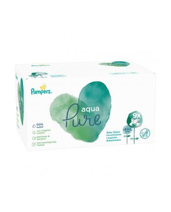 Chusteczki Pampers Aqua Pure 9x48szt