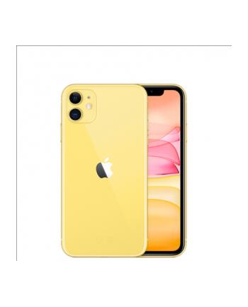 Smartfon Apple iPhone 11 128GB Yellow - MWM42ET/A
