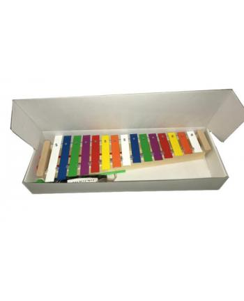 Cymbałki / Dzwonki 15-tonowe diatoniczne altowe kolorowe 421 MAREK