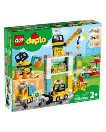 LEGO 10933 DUPLO Żuraw wieżowy i budowa p2