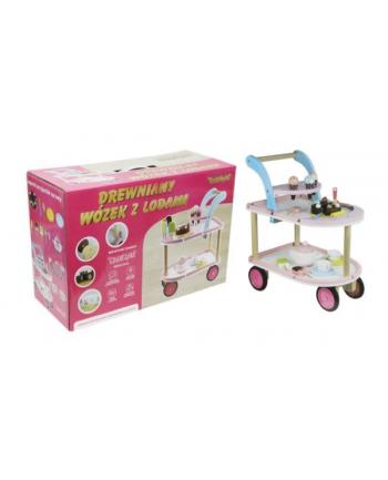 norimpex PROMO Wózek drewniany z lodami 1003314 cena za 1 szt