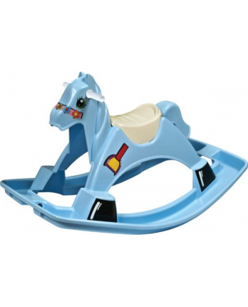 PalPlay Huśtawka koń na biegunach niebieski