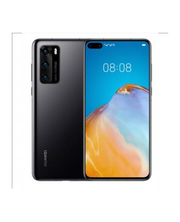 Huawei P40 (Black) Dual SIM 6.1'amp;'; Wyświetlacz OLED LCD 1080x2340/2.86'amp;amp;2.36'amp;amp;1.95GHz/128GB/8GB RAM/System Android 10.0,WiFi,5G,BT
