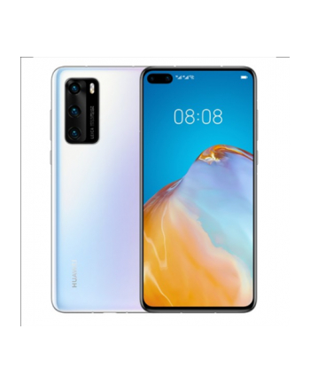 Huawei P40 (Pearl) Dual SIM 6.1'amp;'; Wyświetlacz OLED LCD 1080x2340/2.86'amp;amp;2.36'amp;amp;1.95GHz/128GB/8GB RAM/System Android 10.0,WiFi,5G,BT