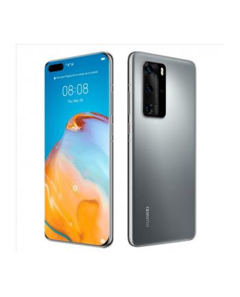 Huawei P40 (Silver) Dual SIM 6.1'amp;'; Wyświetlacz OLED LCD 1080x2340/2.86'amp;amp;2.36'amp;amp;1.95GHz/128GB/8GB RAM/System Android 10.0,WiFi,5G,BT