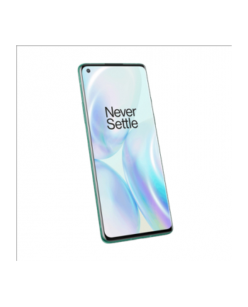 OnePlus 8 (Green) Dual SIM 6.55'amp;'; AMOLED 1080x2400/2.8GHz'amp;amp;1.8GHz/128GB/8GB RAM/System Android 10.0/WiFi,5G,BT