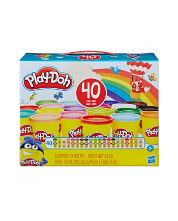 Play-Doh Zestaw 40 tub w pudełku E9413 HASBRO