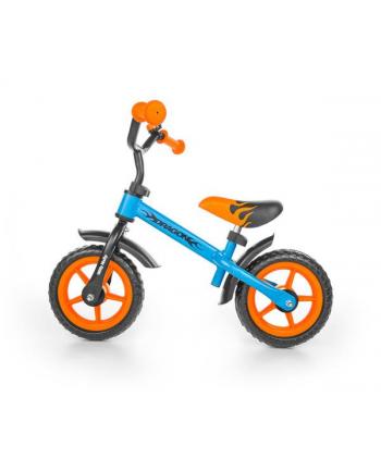 Rowerek biegowy Dragon niebiesko-pomarańczowy MILLY MALLY