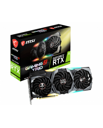 msi Karta graficzna Geforce RTX 2080 Ti GAMING Z TRIO 11GB GDDR6 352bit 3DP/HDMI/USB-C