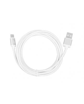 tb Kabel USB-USB C 2m srebrny sznurek