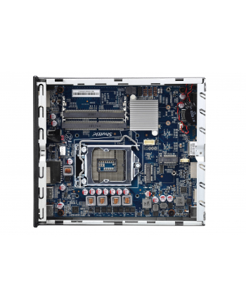 Shuttle XPC slim DH310S, barebones(black, without operating system)