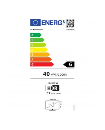 lg electronics LG 34WN80C - 34 - LED monitor(black, HDR10, USB-C, UWQHD, IPS)