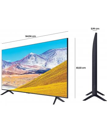 Samsung GU-65TU8079, LED TV(black, HD +, UltraHD / 4K, triple tuner, SmartTV)