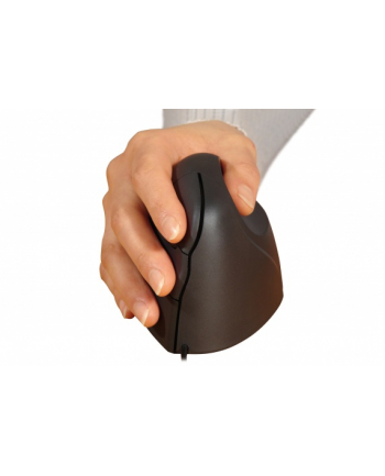 BakkerElkhuizen Evoluent Standard Right, mouse(black / silver)