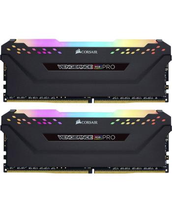 Corsair DDR4 - 32 GB -3600 - CL - 18 - Dual Kit, Vengeance RGB PRO (black, CMW32GX4M2Z3600C18)