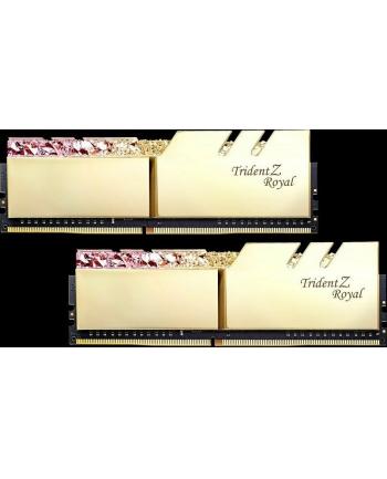 G.Skill DDR4 - 16 GB -3600 - CL - 16 - Dual Kit, Trident Z Royal (gold, F4-3600C16D-16GTRGC)