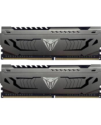 Patriot DDR4 - 64 GB -3600 - CL - 18 - Dual Kit, Viper Steel (grey, PVS464G360C8K)