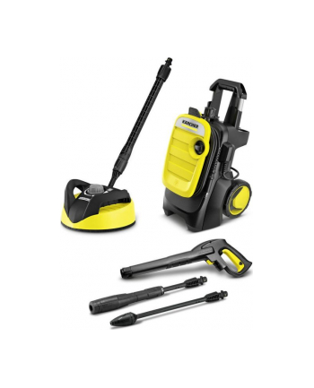 kärcher Karcher Pressure Washer K 5 Compact Home(yellow / black, with surface cleaner T 350)