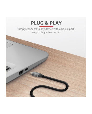 TRUST CALYX USB-C TO HDMI CABLE