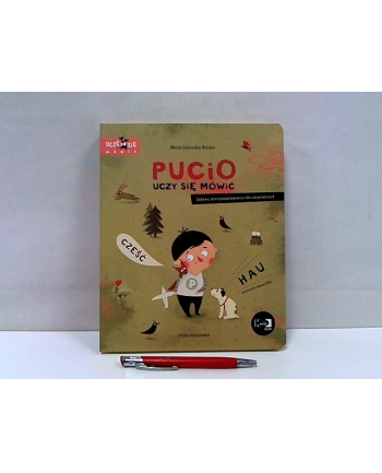 nasza księgarnia Książka Pucio uczy się mówić. Zabawy dźwiękonaśladowcze dla najmłodszych NK