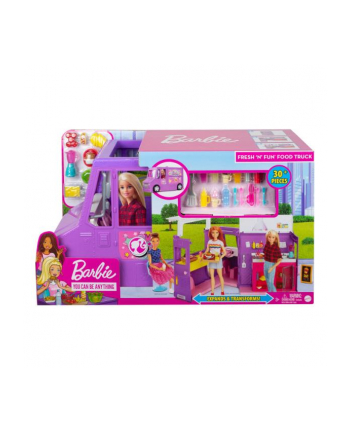 Barbie Foodtruck zestaw GMW07 MATTEL
