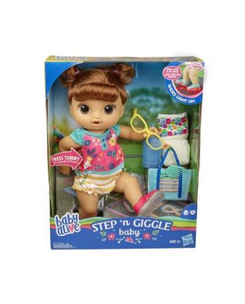 Baby Alive Step n Giggle dziewczynka bruneta E5248 HASBRO