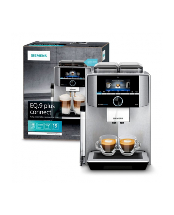 Siemens TI9578X1DE EQ.9 plus connect s700, fully automatic (silver)