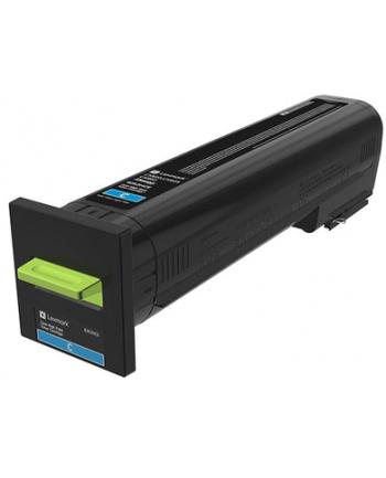 LEXMARK Toner Ultra High Yield Corporate Cyan for CX820 CX825 CX860 17k