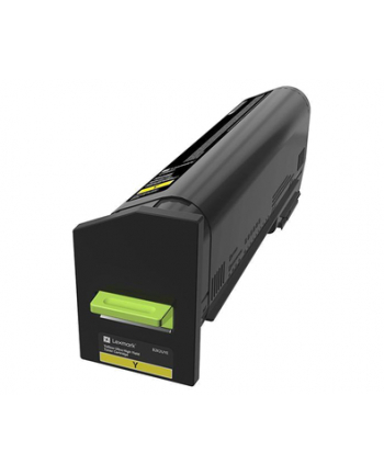 LEXMARK Toner Ultra High Yield Corporate Yellow for CX825 CX860 22k