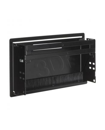 Bachmann 911002 CONI - kaseta do wbudowania czarny krótka  wymiary zewnętrzne 248x151 mm  wymiary montażowe 237x139 mm
