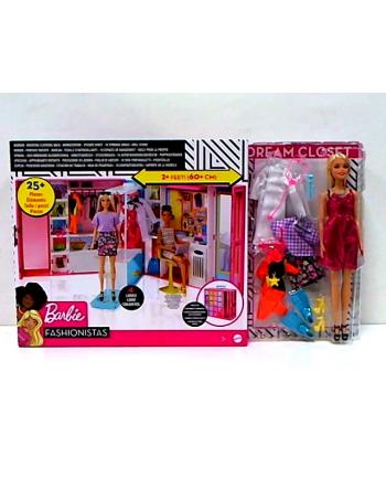 mattel Barbie Wymarzona szafa GBK10