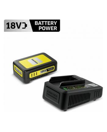 Szybka ładowarka + akumulator KARCHER 18V 2 5Ah